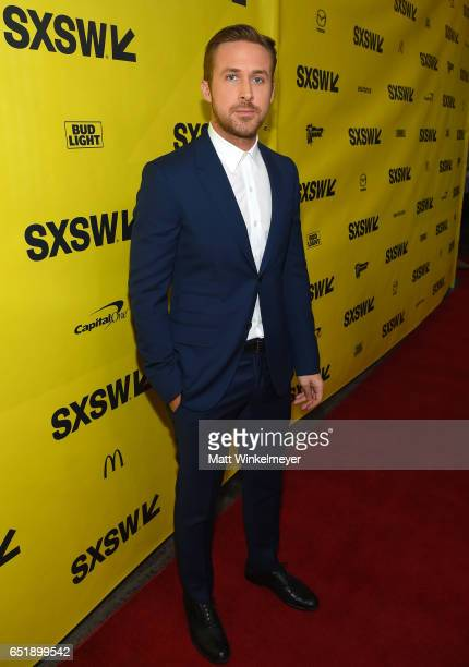 Actor Ryan Gosling attends the premiere of 'Song to Song' during 2017 SXSW Conference and Festivals at Paramount Theatre on March 10 2017 in Austin...
