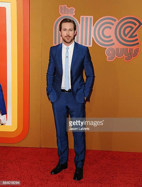 Actor Ryan Gosling attends the premiere of 'The Nice Guys' at TCL Chinese Theatre on May 10 2016 in Hollywood California