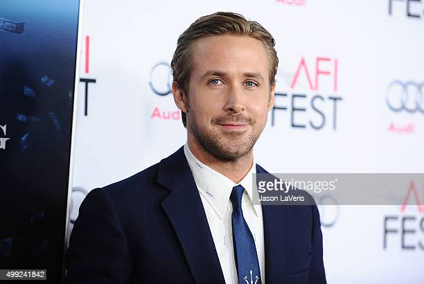 Actor Ryan Gosling attends the premire of 'The Big Short' at the 2015 AFI Fest at TCL Chinese 6 Theatres on November 12 2015 in Hollywood California