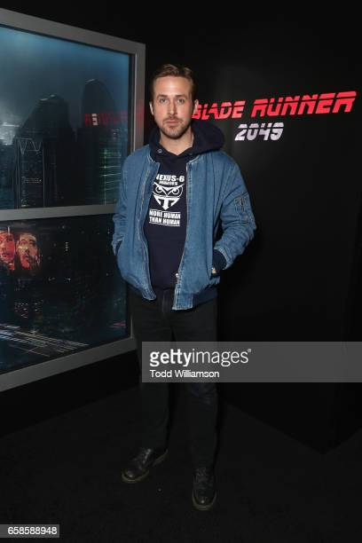 Actor Ryan Gosling during photo call for Alcon Entertainment's sci fi thriller BLADE RUNNER 2049 in association Columbia Pictures domestic...