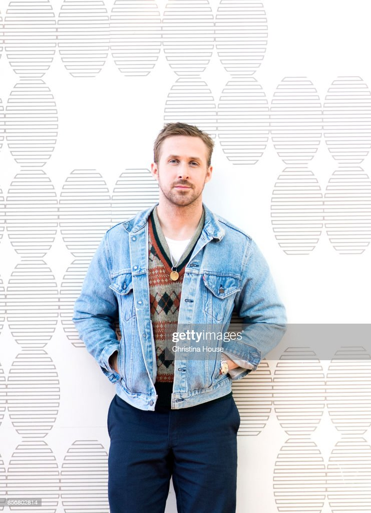 Actor Ryan Gosling of 'Blade Runner 2049' for Los Angeles Times on September 24, 2017 in Los Angeles, California.