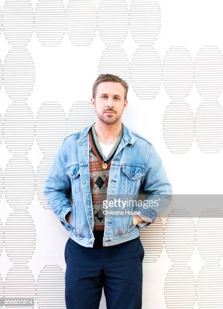 Actor Ryan Gosling of 'Blade Runner 2049' for Los Angeles Times on September 24 2017 in Los Angeles California