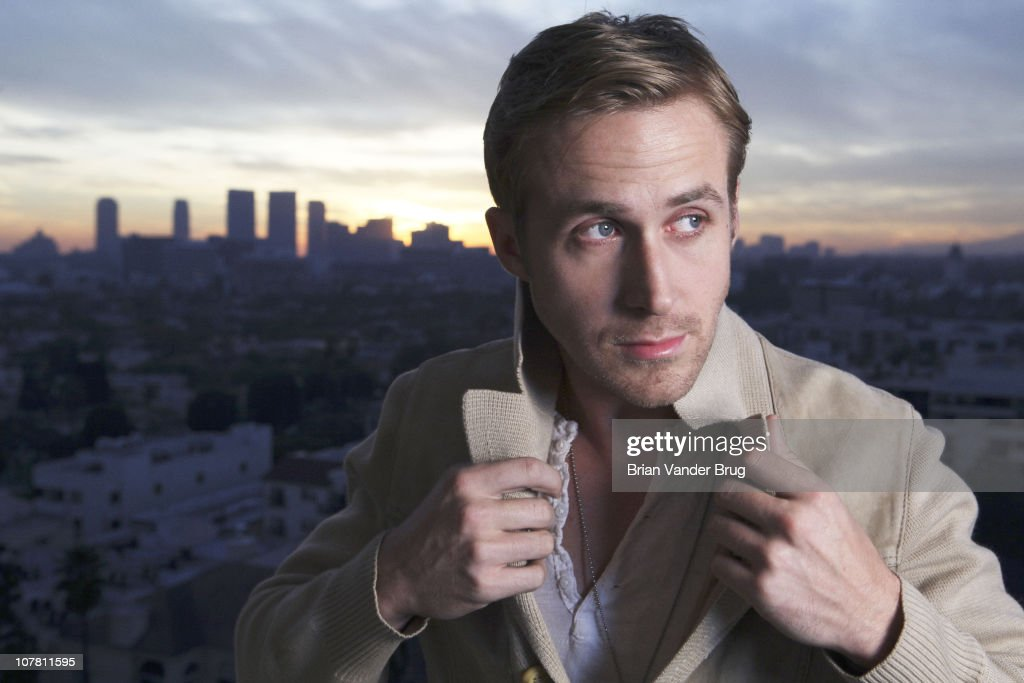 Actor Ryan Gosling poses at a portrait session for the Los Angeles Times in Los Angeles, California on December 26, 2010. Published Image.