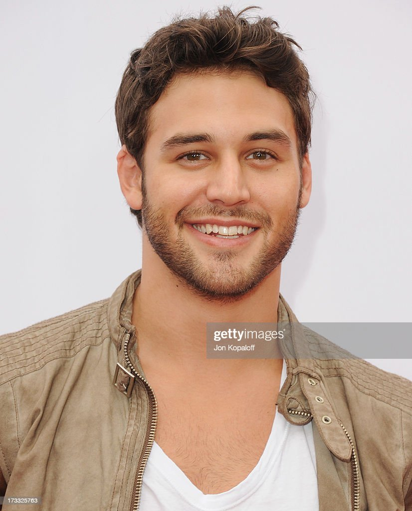 Actor Ryan Guzman arrives at the Los Angeles Premiere 'Red 2' at Westwood Village on July 11, 2013 in Los Angeles, California.