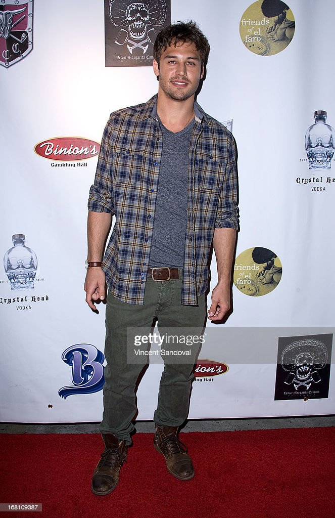 Actor Ryan Guzman attends the 10th annual anniversary and Cinco De Mayo benefit with annual Charity Celebrity Poker Tournament at Velvet Margarita on May 4, 2013 in Hollywood, California.