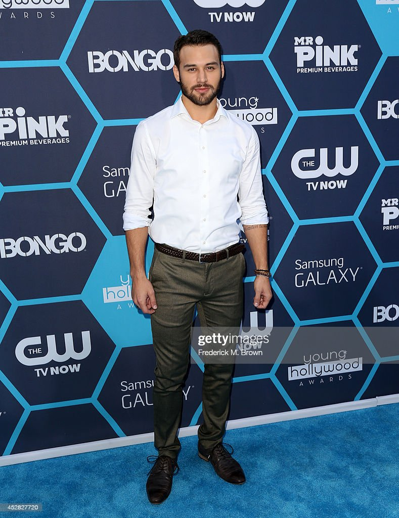 Actor <a gi-track='captionPersonalityLinkClicked' href=/galleries/search?phrase=Ryan+Guzman&family=editorial&specificpeople=8629678 ng-click='$event.stopPropagation()'>Ryan Guzman</a> attends the 2014 Young Hollywood Awards held at The Wiltern on July 27, 2014 in Los Angeles, California.