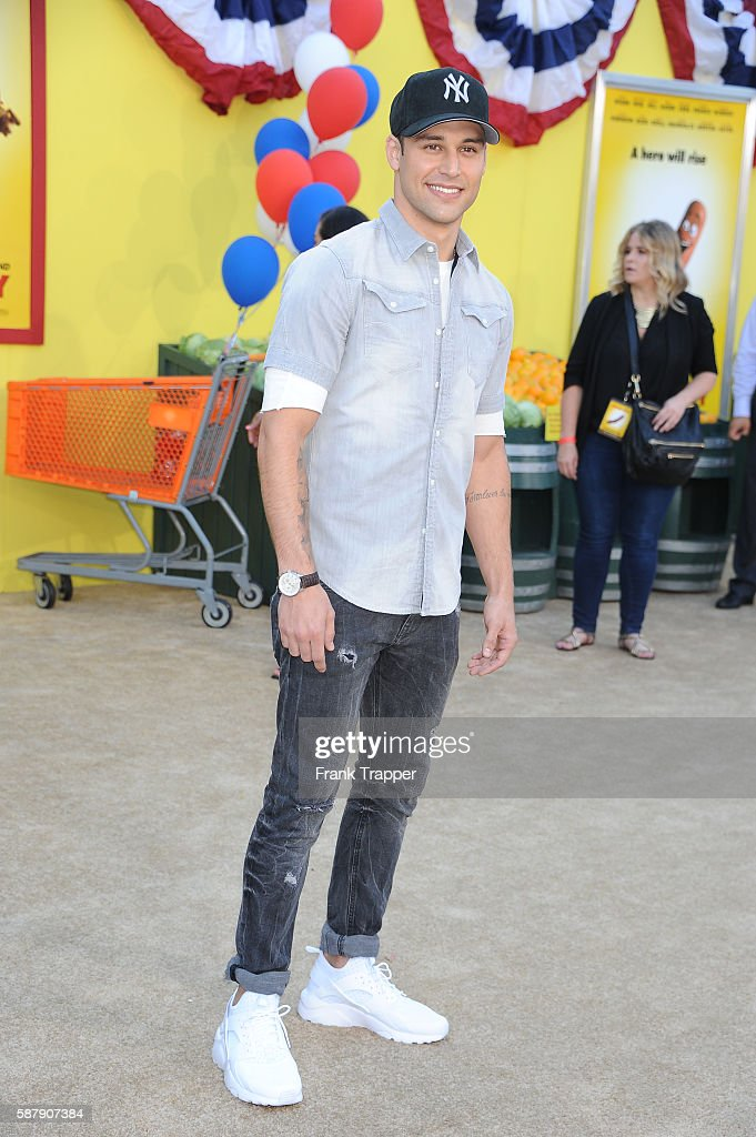 Actor Ryan Guzman attends the premiere of Sony's 'Sausage Party' held at the Regency Village Theater on August 9 2016 in Westwood California