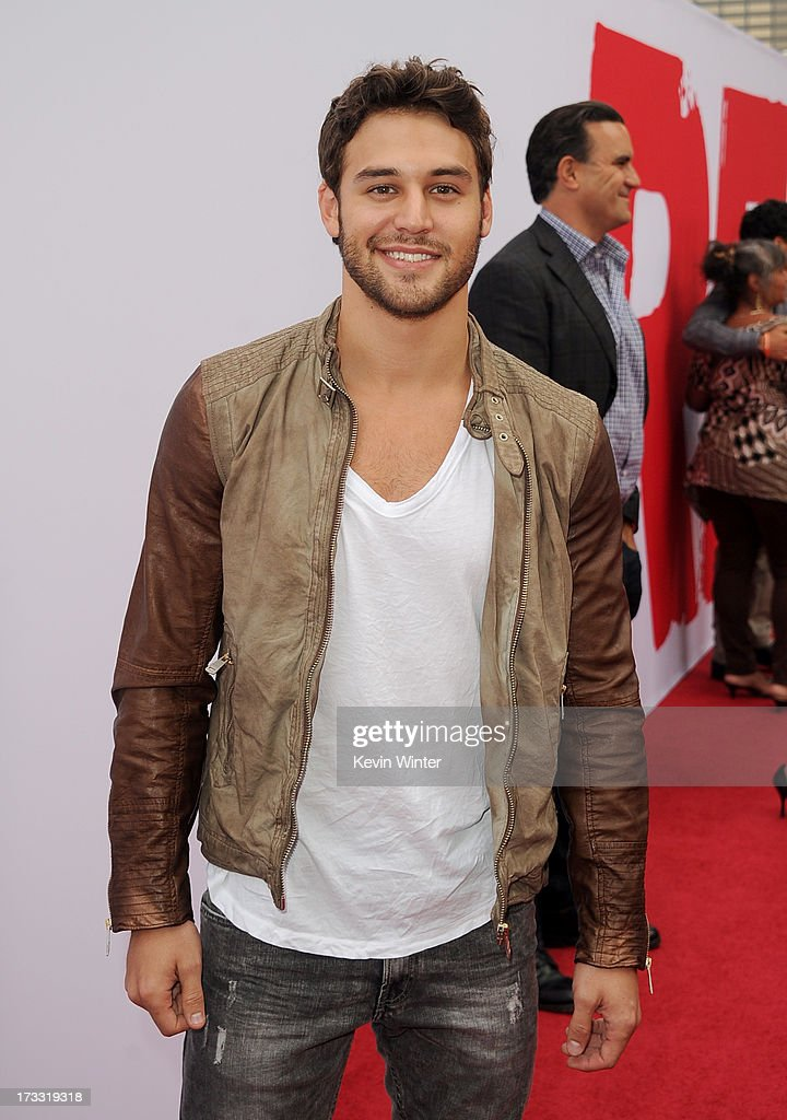 Actor Ryan Guzman attends the premiere of Summit Entertainment's 'RED 2' at Westwood Village on July 11, 2013 in Los Angeles, California.