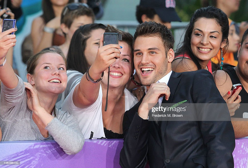 Actor Ryan Guzman attends the Premiere Of Summit Entertainment's 'Step Up Revolution' at Grauman's Chinese Theatre on July 17, 2012 in Hollywood, California.