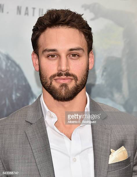 Actor Ryan Guzman attends the premiere of Warner Bros Pictures' 'The Legend of Tarzan' at Dolby Theatre on June 27 2016 in Hollywood California