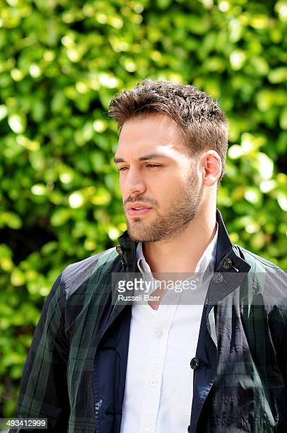 Actor Ryan Guzman is photographed for Self Assignment on May 2 2014 in Santa Monica California