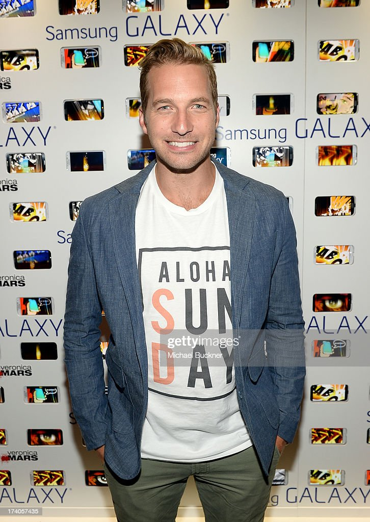 Actor <a gi-track='captionPersonalityLinkClicked' href=/galleries/search?phrase=Ryan+Hansen&family=editorial&specificpeople=628240 ng-click='$event.stopPropagation()'>Ryan Hansen</a> attends the after party for Veronica Mars at The Samsung Galaxy Experience on July 19, 2013 in San Diego, California.