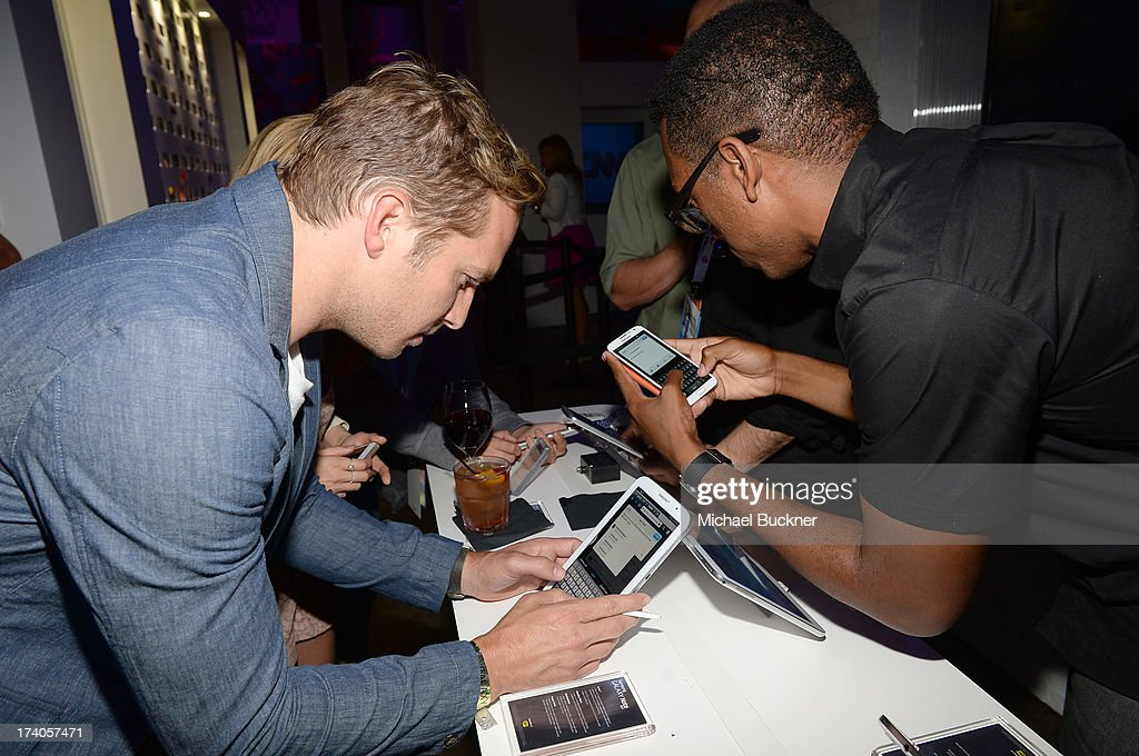 Actor Ryan Hansen attends the after party for Veronica Mars at The Samsung Galaxy Experience on July 19, 2013 in San Diego, California.