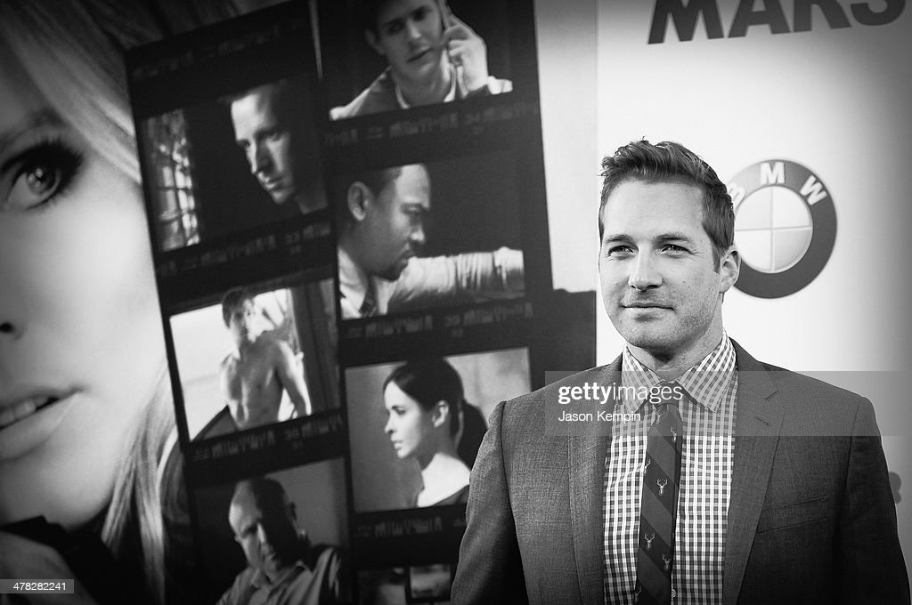 Actor Ryan Hansen attends the Los Angeles Premiere Of 'Veronica Mars'at TCL Chinese Theatre on March 12, 2014 in Hollywood, California.