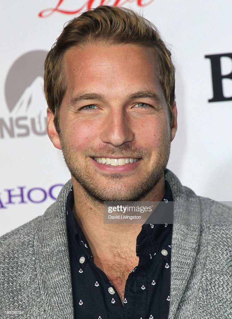 Actor Ryan Hansen attends the premiere of 'Burning Love' Season 2 at the Paramount Theater on the Paramount Studios lot on February 5, 2013 in Hollywood, California.