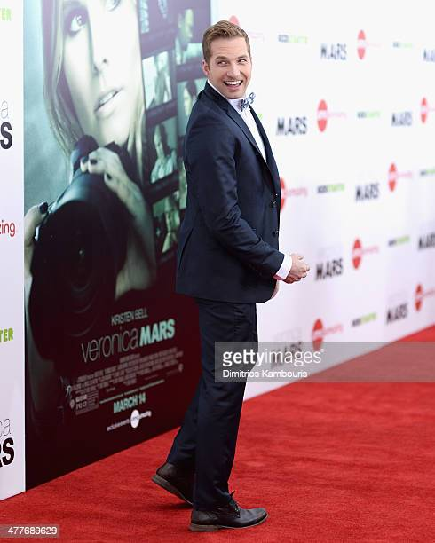 Actor Ryan Hansen attends the 'Veronica Mars' screening at AMC Loews Lincoln Square on March 10 2014 in New York City
