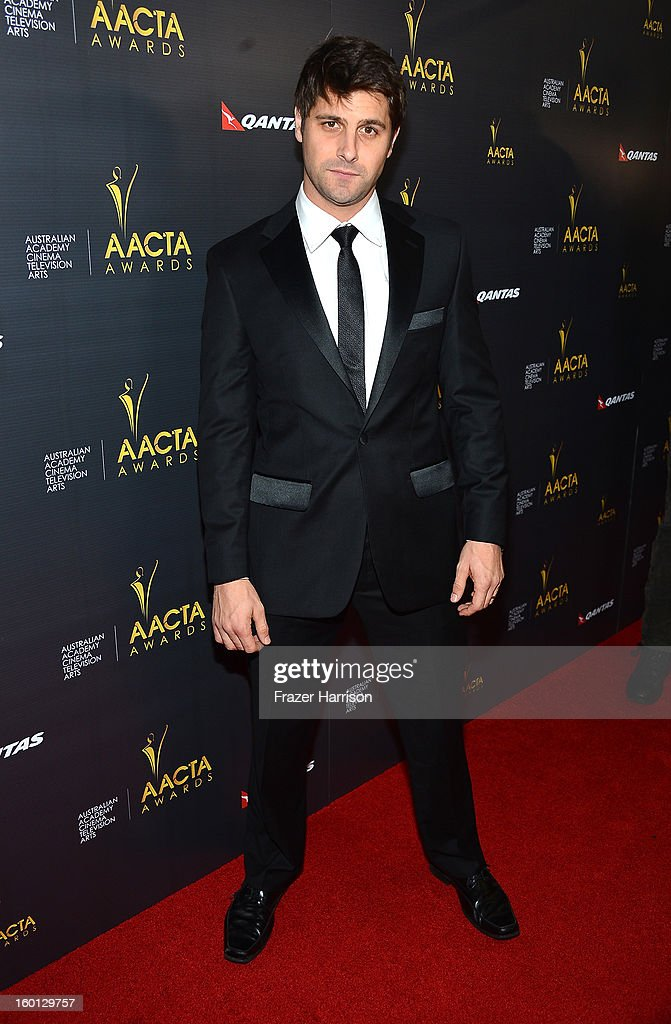 Actor Ryan Johnson arrives at the 2ND AACTA International Awards at Soho House on January 26, 2013 in West Hollywood, California.