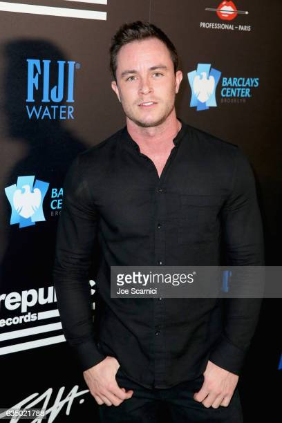 Actor Ryan Kelley at a celebration of music with Republic Records cosponsored by FIJI Water at Catch LA on February 12 2017 in West Hollywood...
