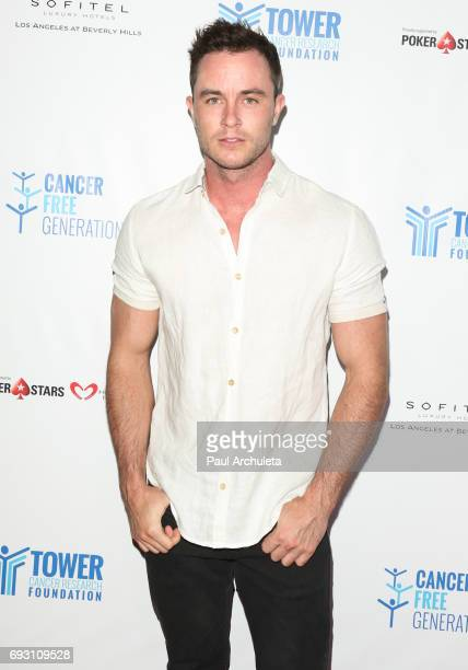 Actor Ryan Kelley attends the 4th annual 'Ante Up For A Cancer Free Generation Poker Tournament And Casino Night' at Sofitel Los Angeles At Beverly...