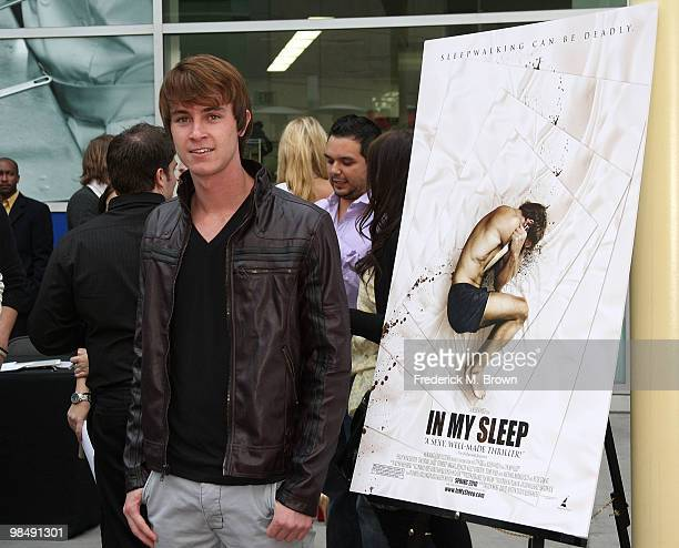 Actor Ryan Kelley attends the 'In My Sleep' film premiere at the Arclight Hollywood on April 15 2010 in Los Angeles California