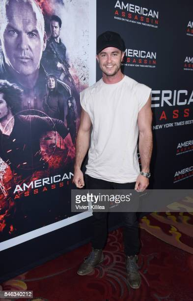 Actor Ryan Kelley attends the Los Angeles Special Screening of 'American Assassin' on September 12 2017 in Hollywood California