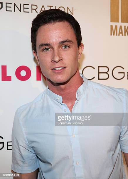 Actor Ryan Kelley attends the Nylon BCBGeneration May Young Hollywood Party at Hollywood Roosevelt Hotel on May 8 2014 in Hollywood California