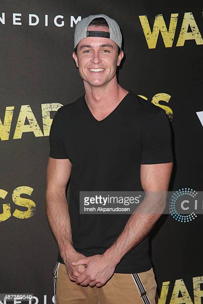 Actor Ryan Kelley attends the premiere of Cinedigm's 'War Pigs' at ArcLight Cinemas on September 8 2015 in Hollywood California