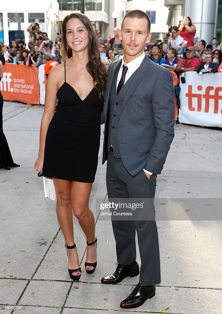 Actor Ryan Kwanten and guest attend 'The Right Kind Of Wrong' premiere during the 2013 Toronto International Film Festival at Roy Thomson Hall on...