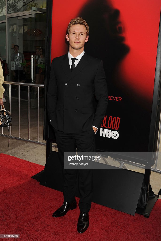 Actor Ryan Kwanten arrives at HBO's 'True Blood' season 6 premiere at ArcLight Cinemas Cinerama Dome on June 11, 2013 in Hollywood, California.