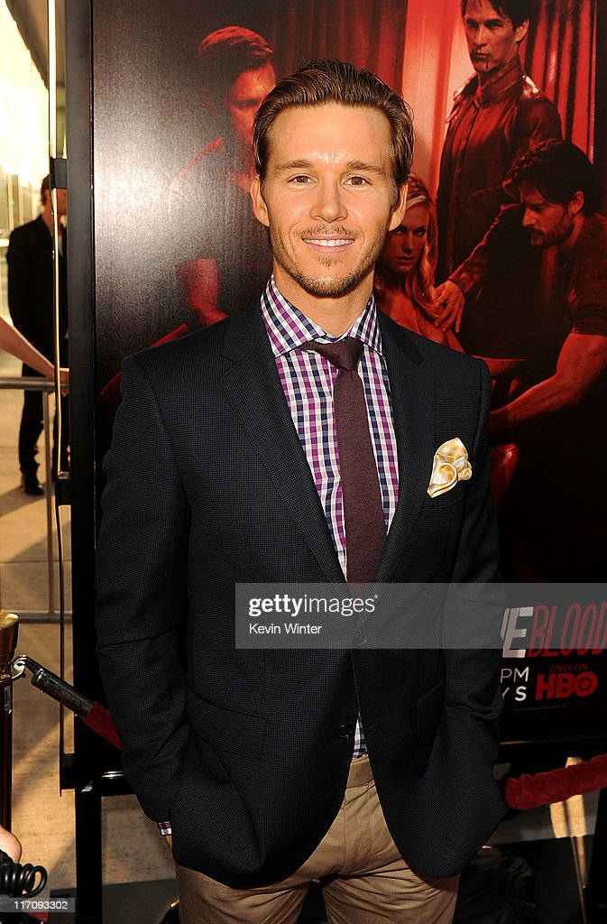 Actor Ryan Kwanten arrives at premiere of HBO's 'True Blood' Season 4 at ArcLight Cinemas Cinerama Dome on June 21 2011 in Los Angeles California