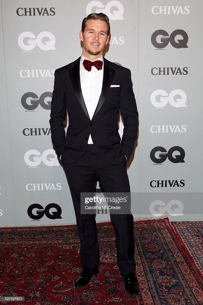 Actor <a gi-track='captionPersonalityLinkClicked' href=/galleries/search?phrase=Ryan+Kwanten&family=editorial&specificpeople=2963828 ng-click='$event.stopPropagation()'>Ryan Kwanten</a> arrives at the 2010 GQ Men of The Year Awards at the Sydney Opera House on November 30, 2010 in Sydney, Australia.