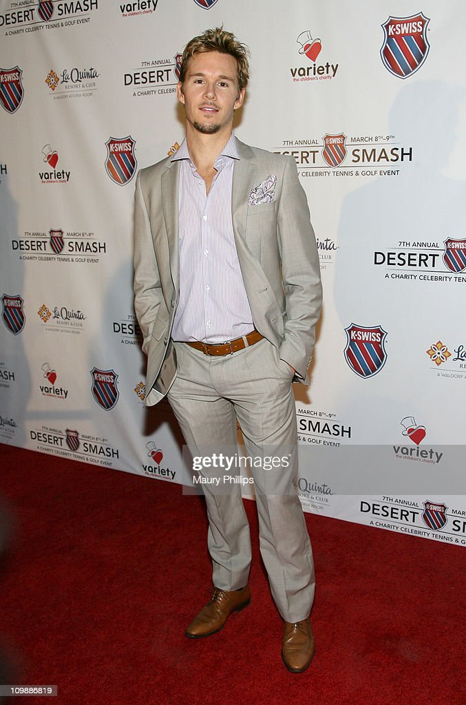 Actor Ryan Kwanten arrives at the 7th Annual KSwiss Desert Smash Day 1 at La Quinta Resort and Club on March 8 2011 in La Quinta California