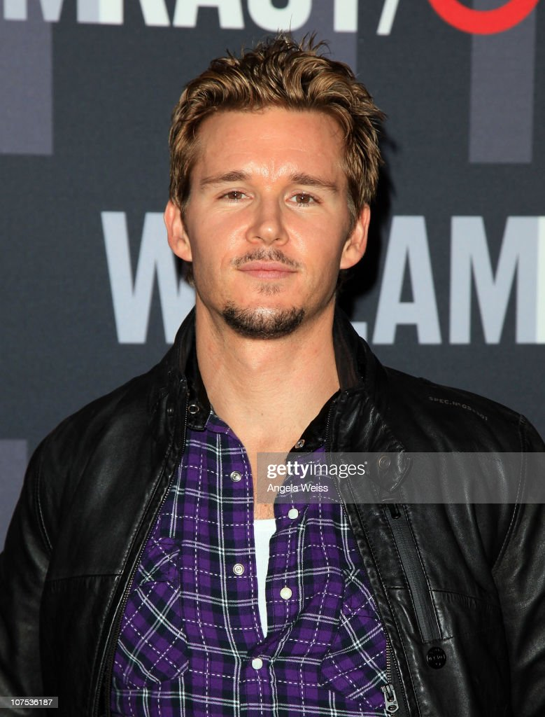 Actor <a gi-track='captionPersonalityLinkClicked' href=/galleries/search?phrase=Ryan+Kwanten&family=editorial&specificpeople=2963828 ng-click='$event.stopPropagation()'>Ryan Kwanten</a> arrives at the launch of Target's & William Rast's Limited Edition Collection shopping event at Factory Place on December 11, 2010 in Los Angeles, California.