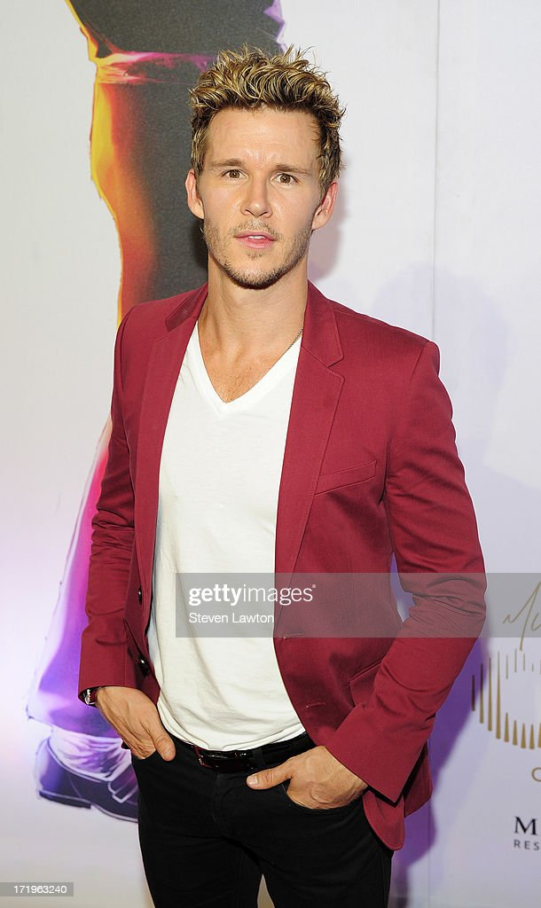 Actor <a gi-track='captionPersonalityLinkClicked' href=/galleries/search?phrase=Ryan+Kwanten&family=editorial&specificpeople=2963828 ng-click='$event.stopPropagation()'>Ryan Kwanten</a> arrives at the world premiere of 'Michael Jackson ONE by Cirque du Soleil' at THEhotel at Mandalay Bay on June 29, 2013 in Las Vegas, Nevada.