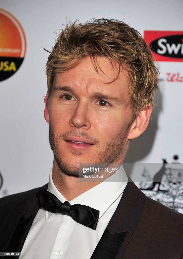 Actor Ryan Kwanten arrives for the G'Day USA Black Tie Gala held at at the JW Marriot at LA Live on January 12, 2013 in Los Angeles, California.