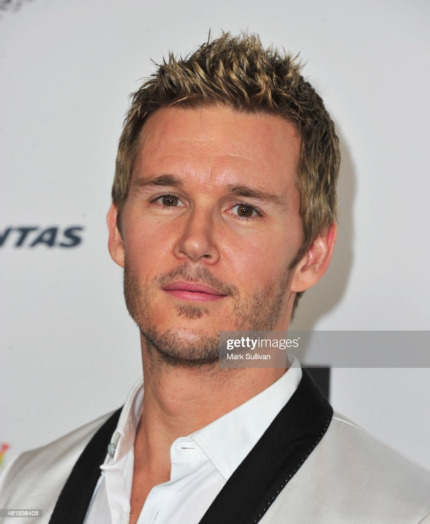 Actor Ryan Kwanten attends the 2014 G'Day USA Los Angeles Black Tie Gala at JW Marriott Los Angeles at LA LIVE on January 11 2014 in Los Angeles...