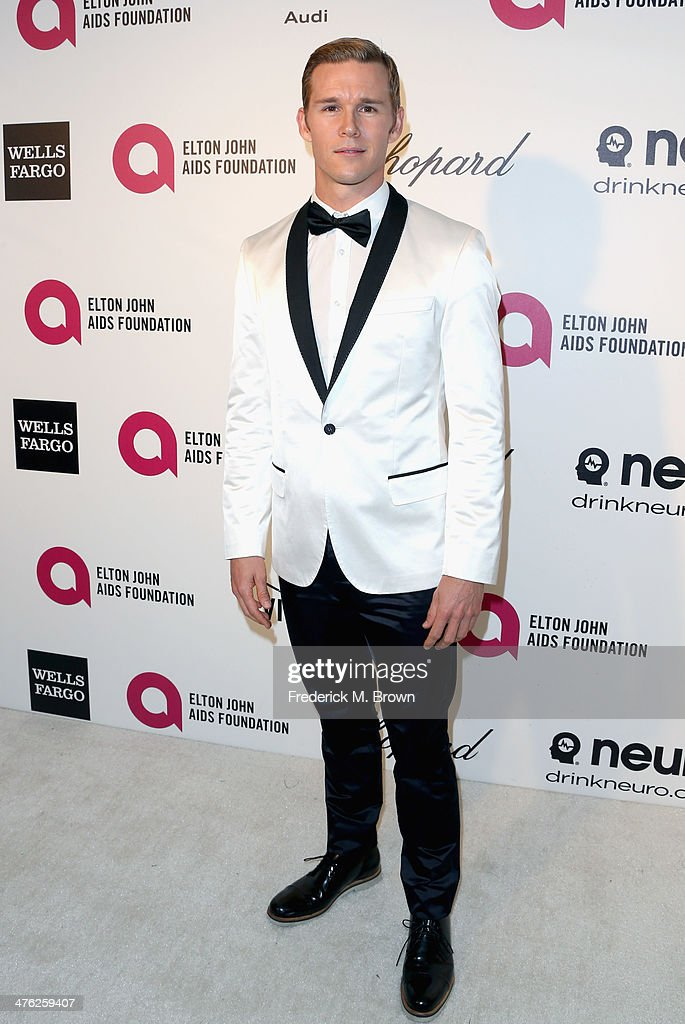 Actor Ryan Kwanten attends the 22nd Annual Elton John AIDS Foundation's Oscar Viewing Party on March 2 2014 in Los Angeles California