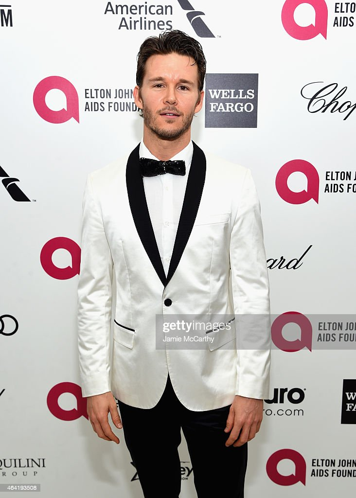 Actor Ryan Kwanten attends the 23rd Annual Elton John AIDS Foundation Academy Awards Viewing Party on February 22 2015 in Los Angeles California