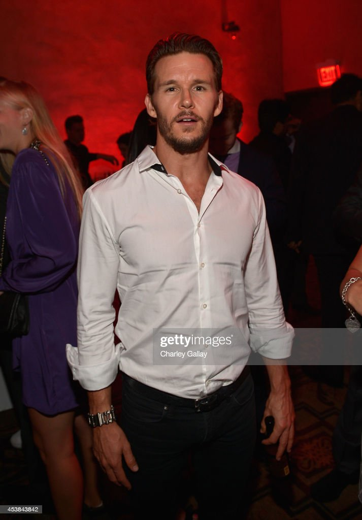 Actor Ryan Kwanten attends the after party for 'SIN CITY A DAME TO KILL FOR' premiere presented by Dimension Films in partnership with Time Warner...