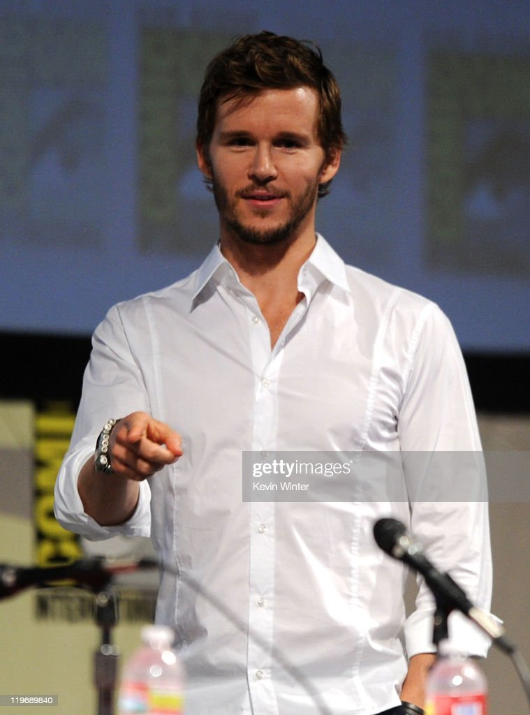 Actor Ryan Kwanten speaks at the 'Knights Of Badassdom' Panel during ComicCon 2011 on July 23 2011 in San Diego California