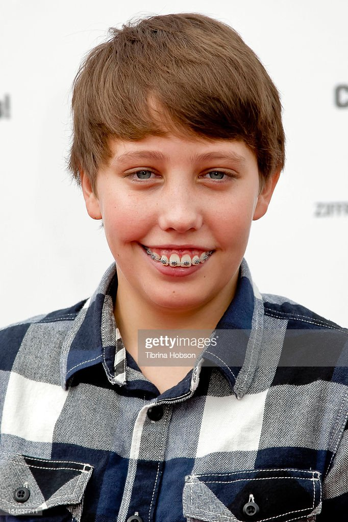 Actor Ryan Lee attends Yahoo! Sports presents 'A Day Of Champions' benefiting the Bogart Pediatric Cancer Research Program at Sports Museum of Los Angeles on October 21, 2012 in Los Angeles, California.