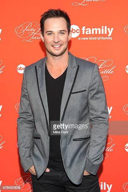 Actor Ryan Merriman attends the 'Pretty Little Liars' season finale screening at the Ziegfeld Theater on March 18 2014 in New York City