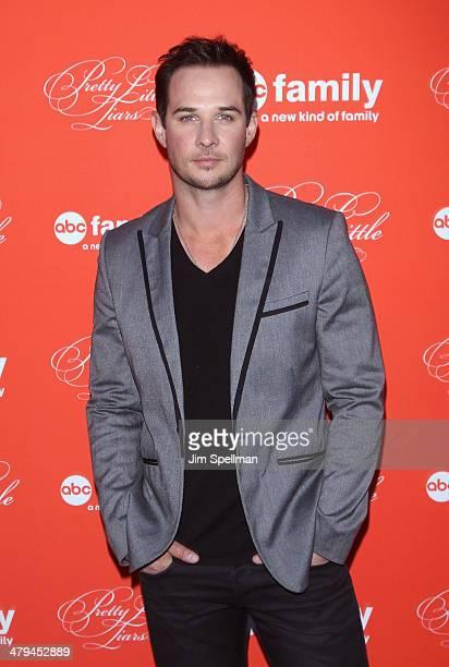 Actor Ryan Merriman attends the 'Pretty Little Liars' season finale screening at Ziegfeld Theater on March 18 2014 in New York City