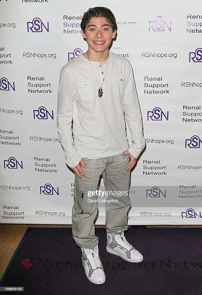 Actor <a gi-track='captionPersonalityLinkClicked' href=/galleries/search?phrase=Ryan+Ochoa&family=editorial&specificpeople=5430295 ng-click='$event.stopPropagation()'>Ryan Ochoa</a> attends the 14th Annual RSN's Renal Teen Prom at Notre Dame High School on January 20, 2013 in Sherman Oaks, California.