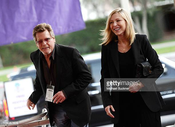 Actor Ryan O'Neal and actress Tatum O'Neal attend the closing night screening of 'First Grader' at the Palm Springs High School during the 22nd...