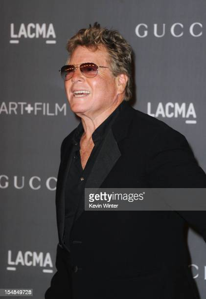 Actor Ryan O'Neal arrives at LACMA 2012 Art Film Gala at LACMA on October 27 2012 in Los Angeles California