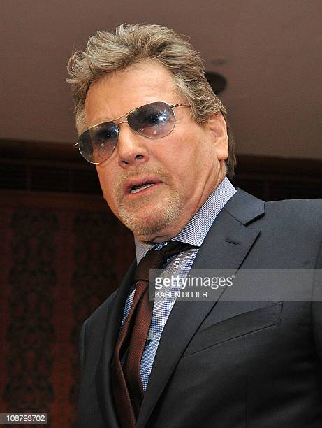 Actor Ryan O'Neal arrives for a ceremony in which items belonging to the late actress Farrah Fawcett were enshrined in the Smithsonian Institution's...