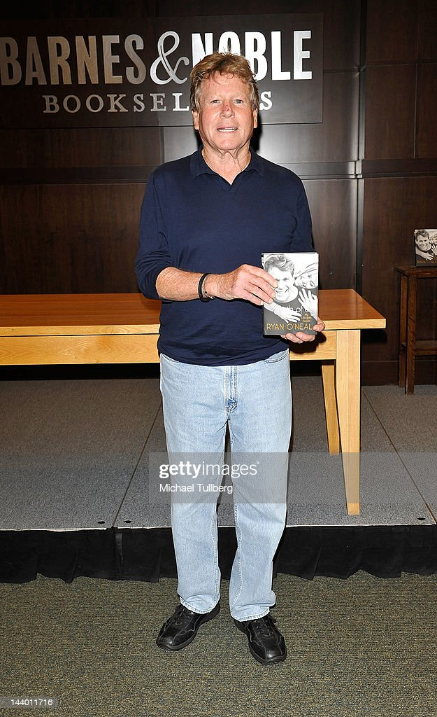 """Ryan O'Neal Book Signing For """"Both Of Us"""""""
