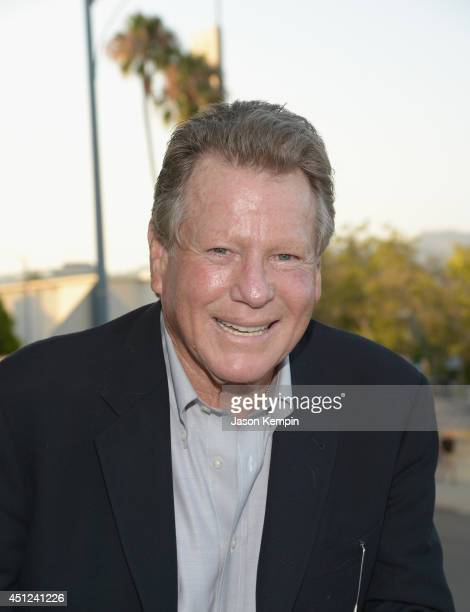 Actor Ryan O'Neal attends the Farrah Fawcett 5th Anniversary Reception at the Farrah Fawcett Foundation on June 25 2014 in Beverly Hills California