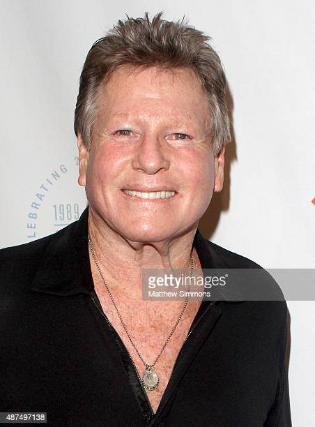 Actor Ryan O'Neal attends the Farrah Fawcett Foundation 1st annual TexMex Fiesta at Wallis Annenberg Center for the Performing Arts on September 9...
